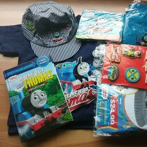 Thomas & Friends Accessories - Thomas The Train Birthday Party Bundle